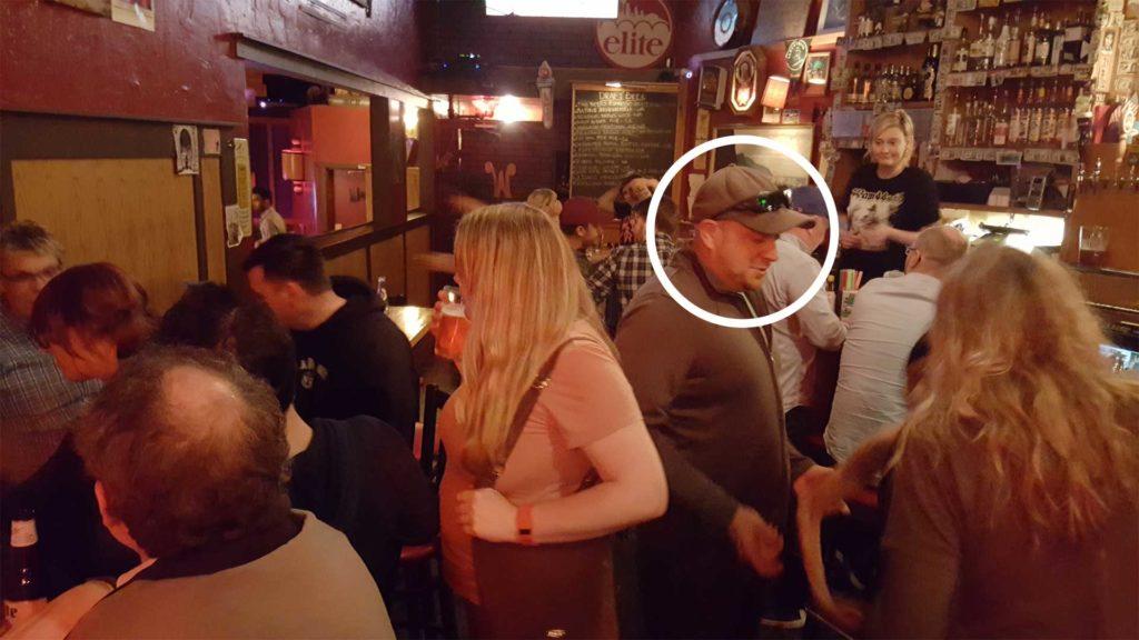 Mark calls Hillside Best Bar in Seattle